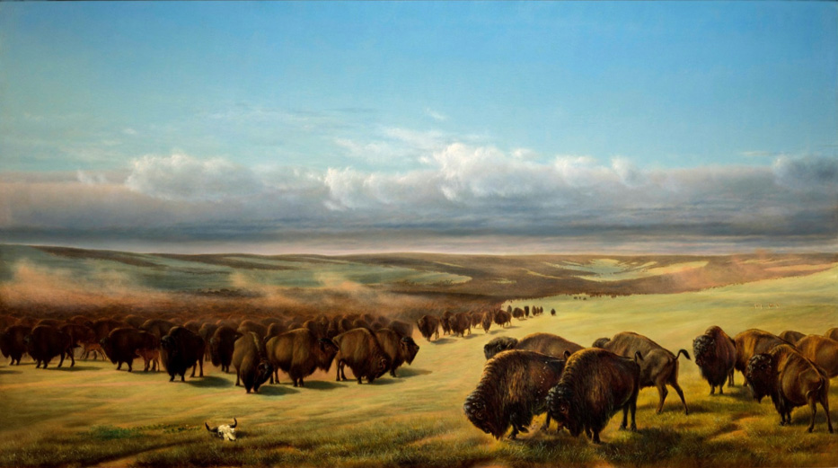 William Jacob Hays, The Gathering of the Herds, 1861